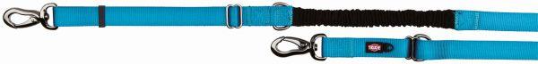 Experience Verlängerungsleine mit Ruckdämpfer, L-XL: 2,20-2,40 m/ 25 mm, blau