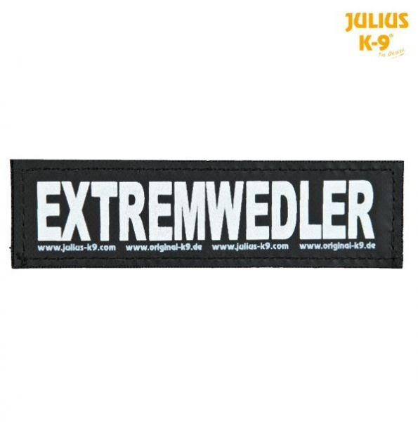 2 Julius-K9 Klettsticker S, EXTREMWEDLER