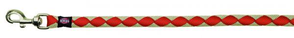Cavo Leine, L-XL: 1,00 m/ø 18 mm, rot/silber