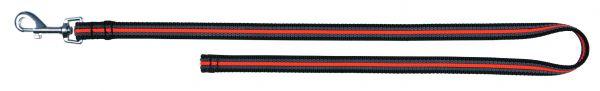 Fusion Trainingsleine, ohne Handschlaufe S-L: 1,00 m/17 mm, schwarz/orange