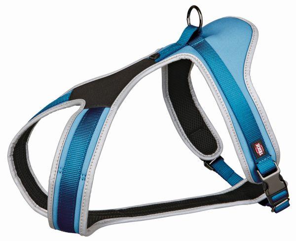 Experience Touren-Geschirr, L-XL: 70-100 cm/20 mm, blau