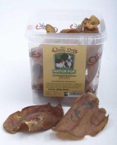 Classic Dog Schweineohren, 600 g Eimer