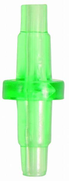 2 Schlauchverbinder, ø 5 mm, grün
