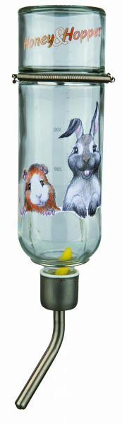 Honey & Hopper Kleintiertränke, Glas, 500 ml