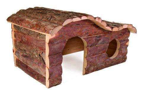 Hanna Blockhaus, für Kaninchen, 43×22×28 cm