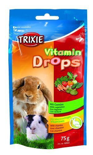 Esquisita Vitamin-Drops für Kleintiere, Gemüse, 75 g