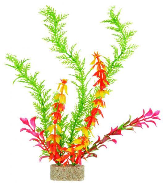 6 Kunststoffpflanzen mit Sandfuß 30 cm