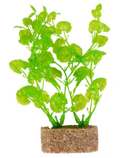 6 Kunststoffpflanzen mit Sandfuß 12 cm