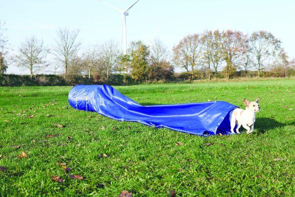 Agility Sacktunnel, Nylon, hellblau, ø 60 cm/5,00 m