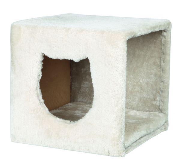 2 Kuschelhöhlen für Regal 37 × 33 × 33 cm, lichtgrau
