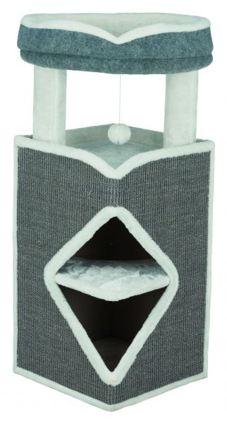 Cat Tower Arma, 98 cm, grau/blau/grau
