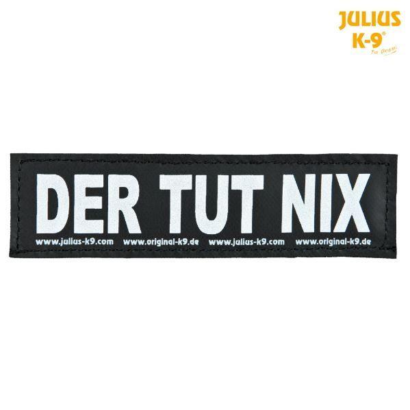 2 Julius-K9 Klettsticker L, DER TUT NIX