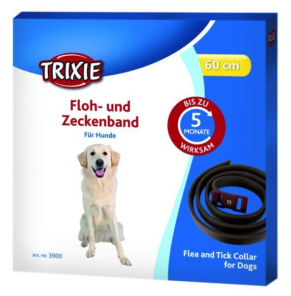 Floh- und Zeckenband, Hund 60 cm, braun