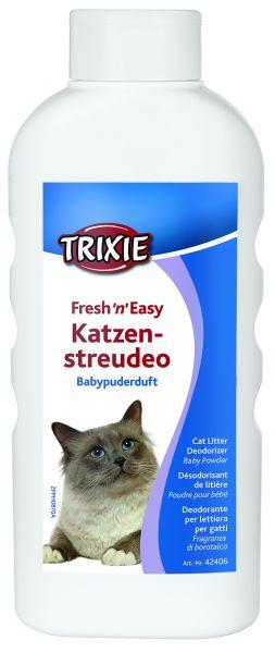 Fresh'n'Easy Katzenstreudeo, Babypuderduft 750 g