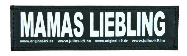 2 Julius-K9 Klettsticker S, MAMAS LIEBLING