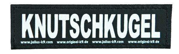 2 Julius-K9 Klettsticker S, KNUTSCHKUGEL