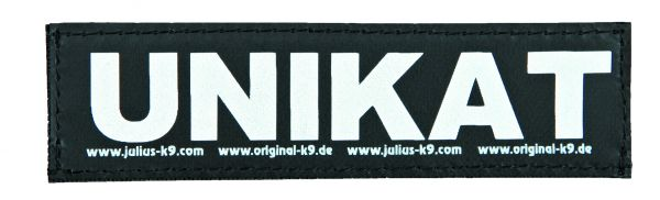 2 Julius-K9 Klettsticker S, UNIKAT