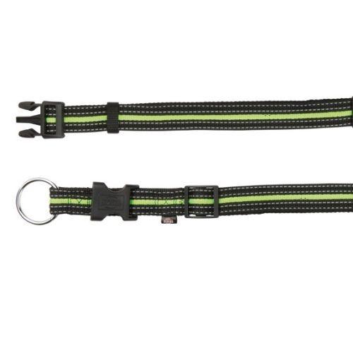 Fusion Halsband S-M: 30-45 cm/17 mm, schwarz/grün