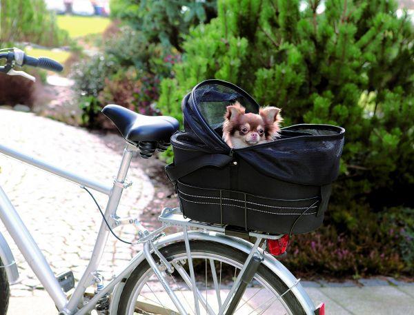 Fahrradtasche 48 × 29 × 42 cm, schwarz