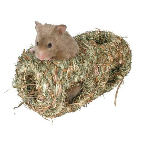 Grasnest für Hamster, doppelt, ca. ø 10×19 cm