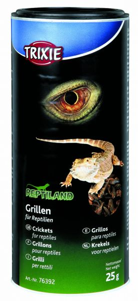 Grillen, getrocknet, 250 ml/25 g