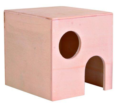Hamsterhaus, Holz, 10×10×11 cm