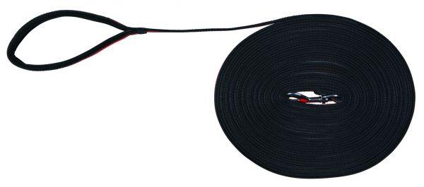 Fusion Schleppleine, 15 m/17 mm, schwarz/orange