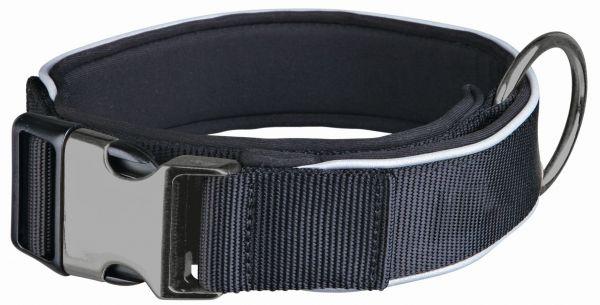 Experience Halsband, extra breit M-L: 37-50 cm/30 mm, schwarz