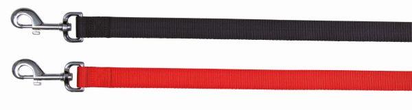 Classic Leine, L-XL: 1,00 m/25 mm, schwarz