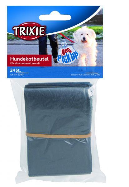 Dog Pick Up Hundekotbeutel für # 2342 M, 24 St., schwarz