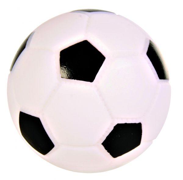 Fußball, Vinyl, ø 6 cm
