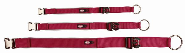 Experience Halsband, extra breit XS: 26-33 cm/20 mm, weinrot