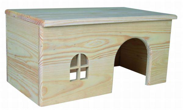 Holzhaus, Kaninchen, 40 × 20 × 23 cm
