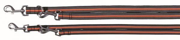 Fusion Verlängerungsleine S-L: 2,00 m/17 mm, schwarz/orange