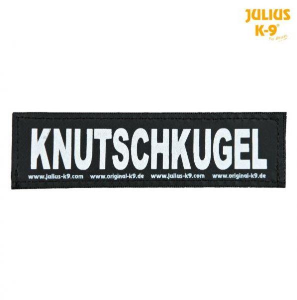 2 Julius-K9 Klettsticker L, KNUTSCHKUGEL