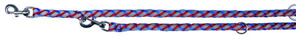 Cavo Reflect Verlängerungsleine, L-XL: 2,00 m/ø 18 mm, blau/rot
