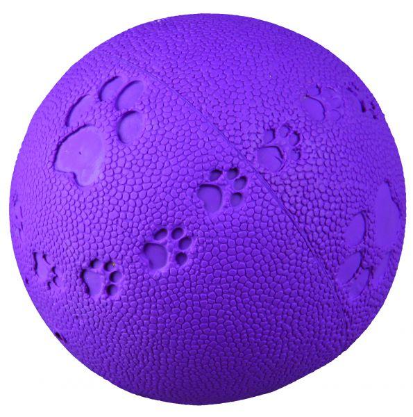 Ball, Naturgummi, mit Quietscher, ø 9 cm