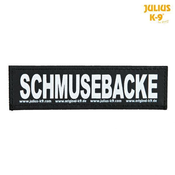 2 Julius-K9 Klettsticker L, SCHMUSEBACKE