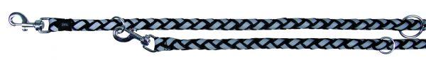 Cavo Reflect Verlängerungsleine, S-M: 2,00 m/ø 12 mm, schwarz