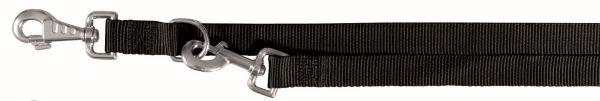 Classic Verlängerungsleine, M-L: 2,00 m/20 mm, schwarz
