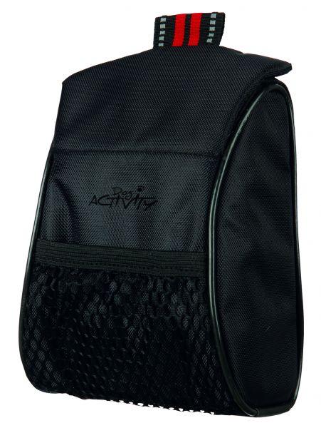 Dog Activity Snack-Tasche Treat Bag 13 × 18 × 7 cm, schwarz