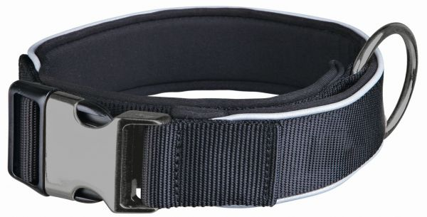 Experience Halsband, extra breit L-XL: 45-60 cm/40 mm, schwarz