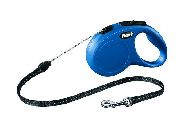 flexi New CLASSIC S: 5 m, blau