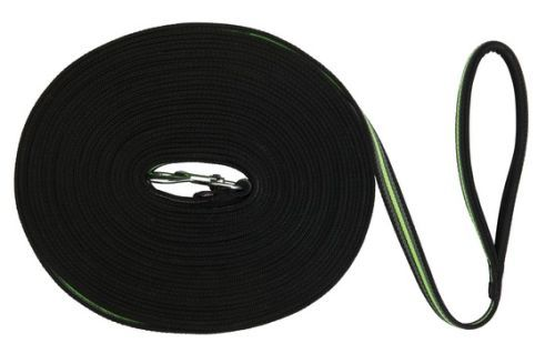 Fusion Schleppleine, 15 m/17 mm, schwarz/grün