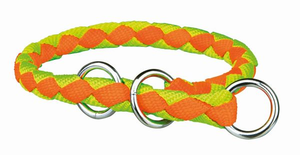 Cavo Würger L-XL: 52-60 cm/ø 18 mm, neon-orange/neon-grün