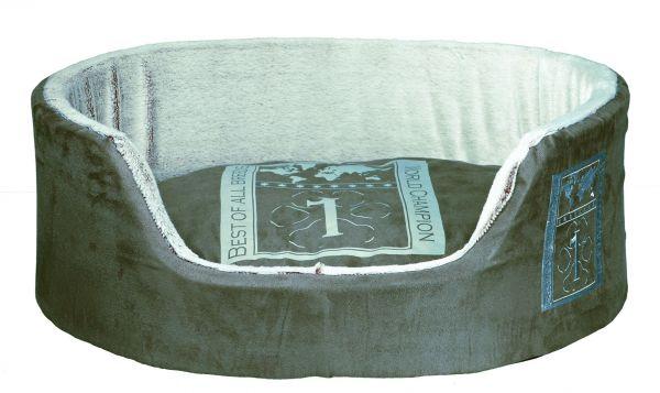 Bett Best of all Breeds, 85 × 65 cm, taupe/hellgrau