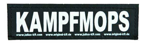 2 Julius-K9 Klettsticker S, KAMPFMOPS