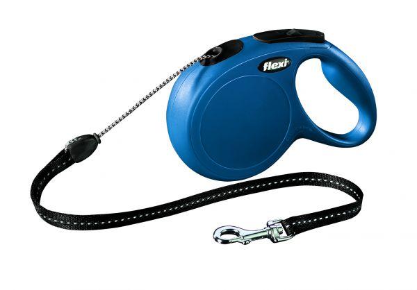 flexi New CLASSIC LONG M: 8 m, blau