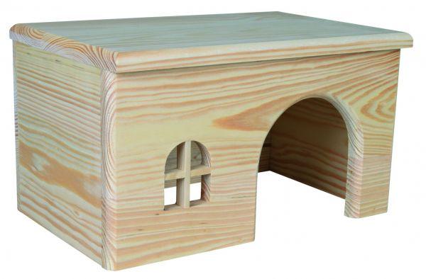 Holzhaus, Meerschweinchen, 28 × 16 × 18 cm