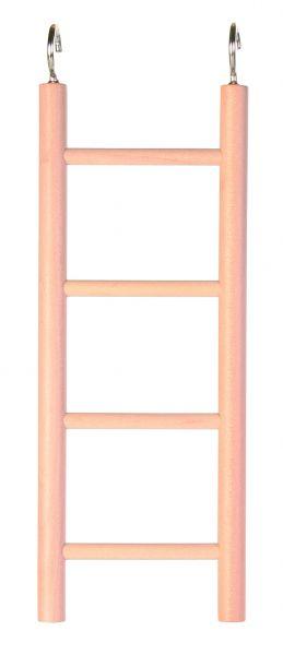 Holzleiter, 4 Sprossen/20 cm